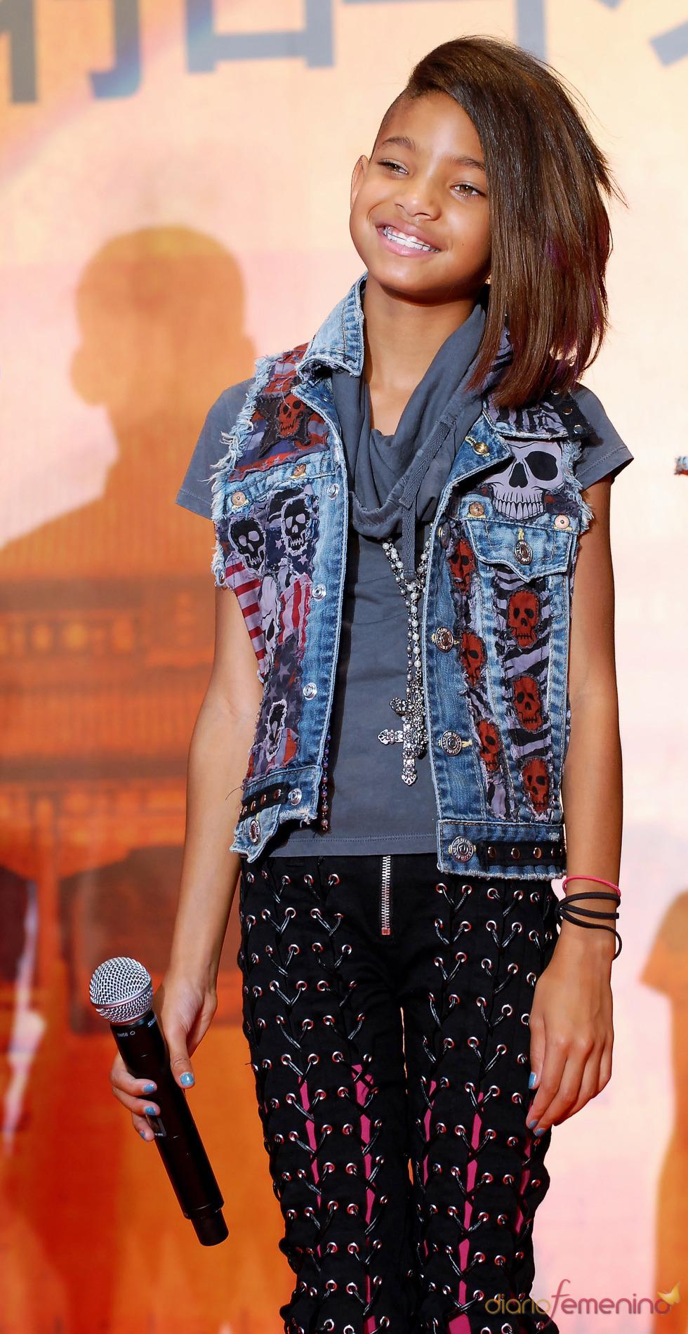 Willow Smith, con estilo rockero
