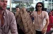 Katy Perry y Russell Brand, en la India antes de la boda