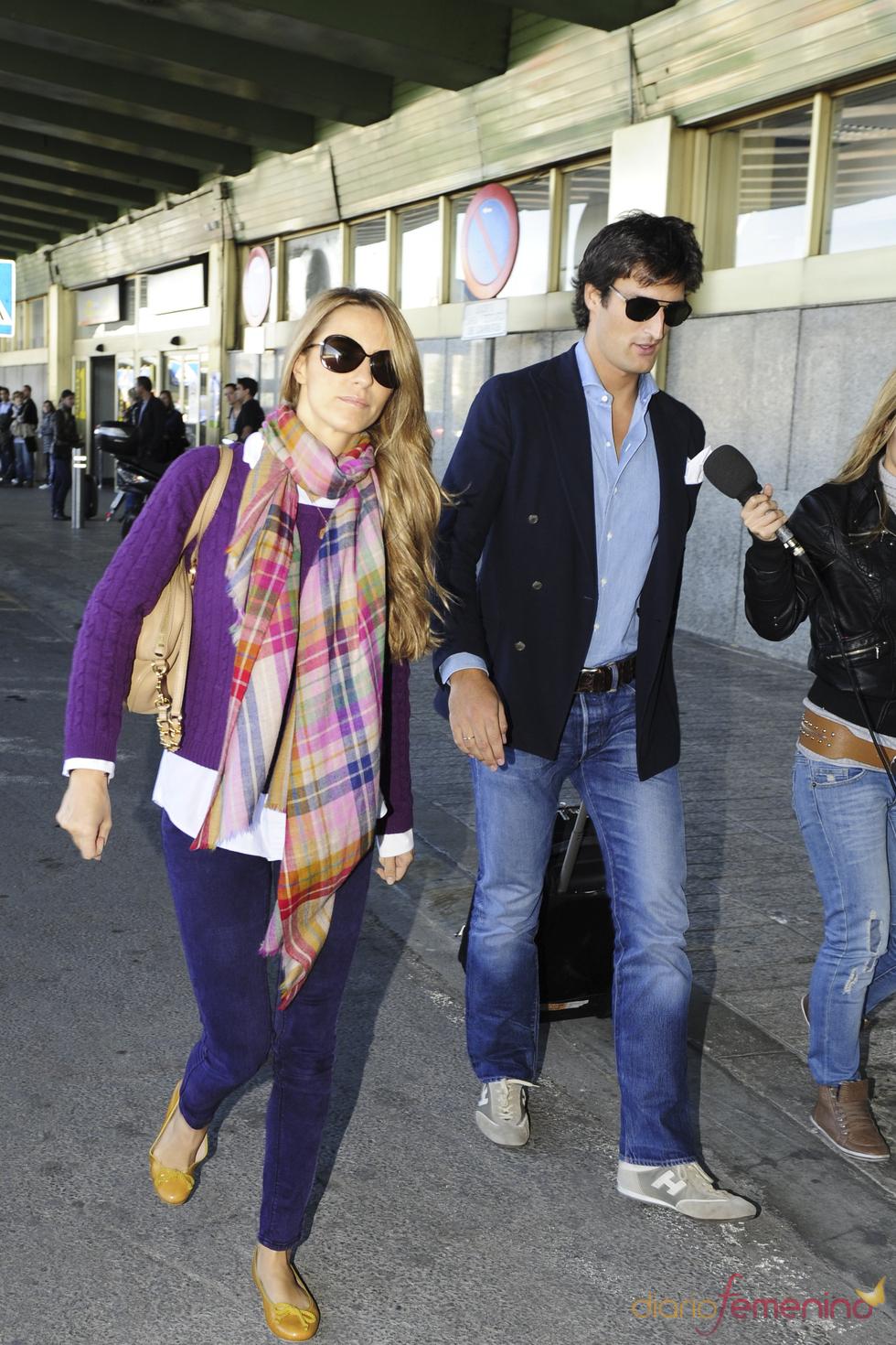 Rafael Medina y Laura Vecino se marchan de luna de miel