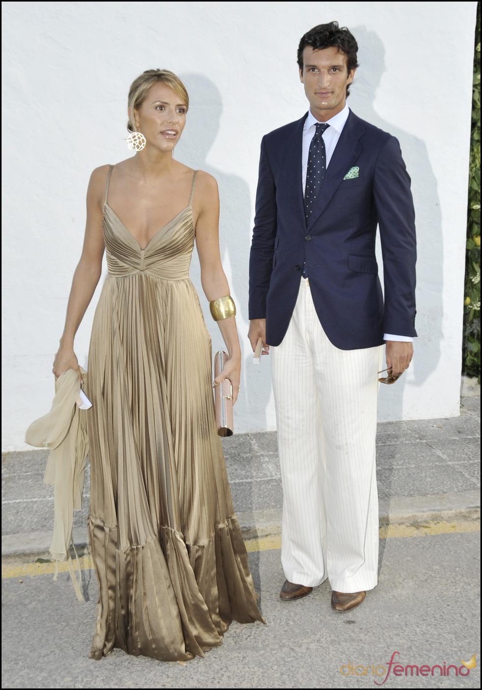 Rafael Medina y Laura Vecino se van de boda