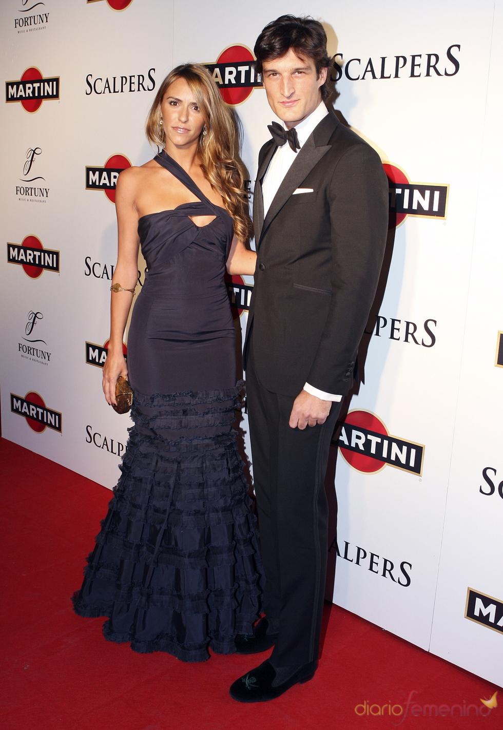 Rafael Medina y Laura Vecino se visten de gala