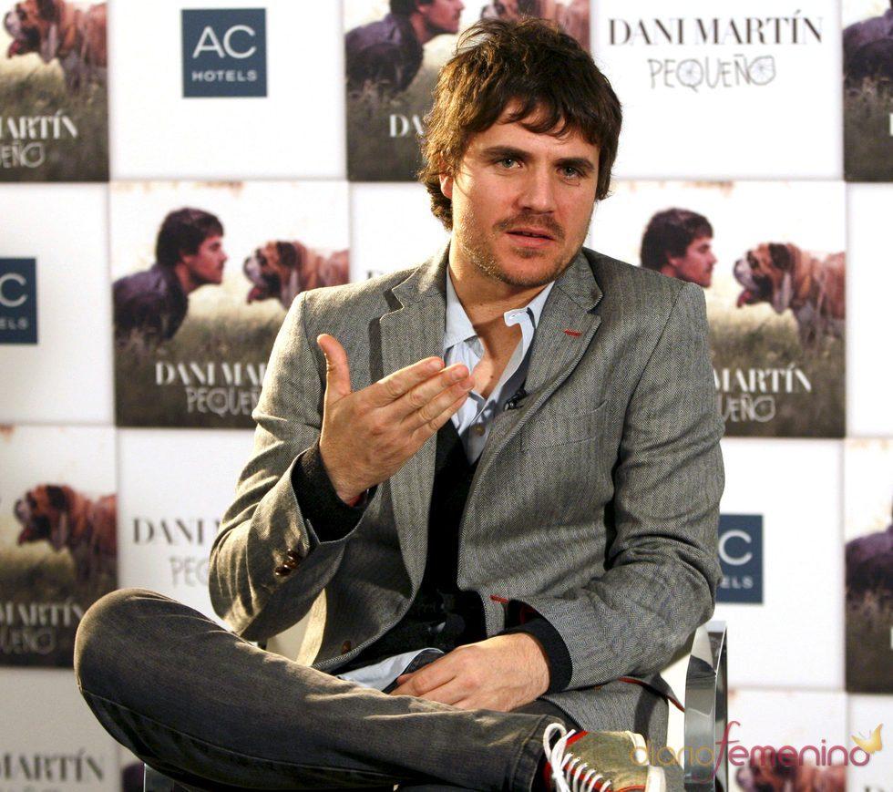 Dani Martín lanza el disco 'Pequeño'