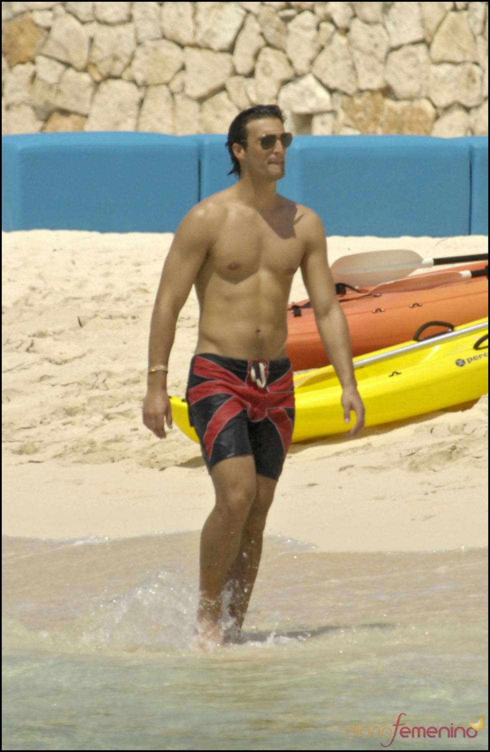 El Duque de Feria en la playa