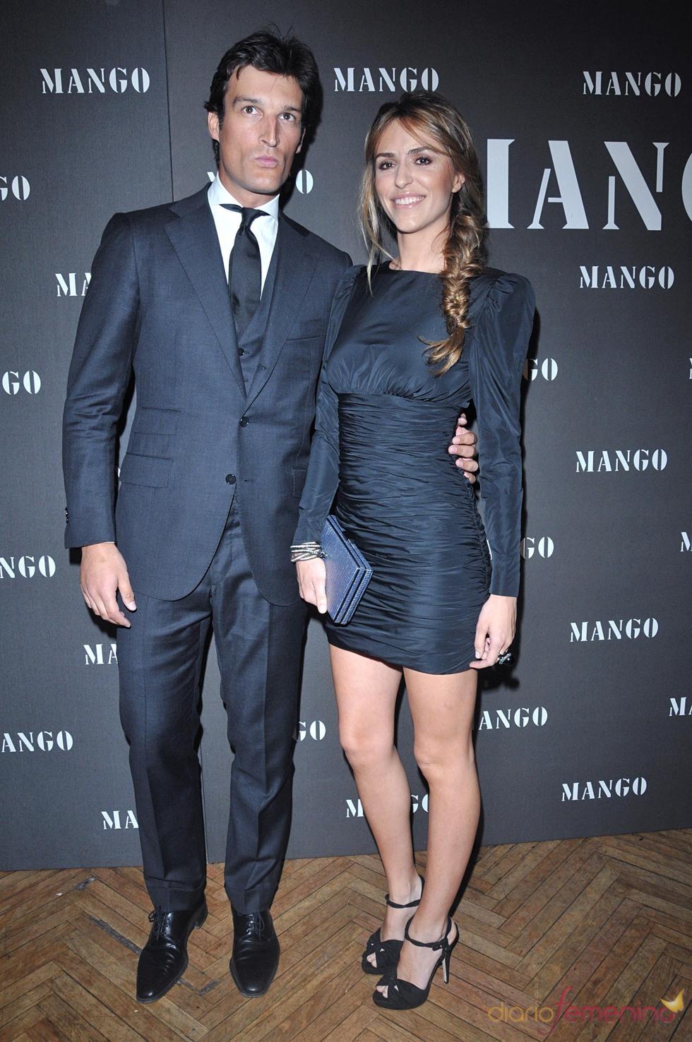Rafael Medina y Laura Vecino en un evento de Mango