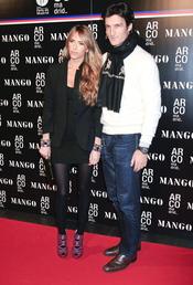 Rafael Medina y Laura Vecino en la feria de Madrid