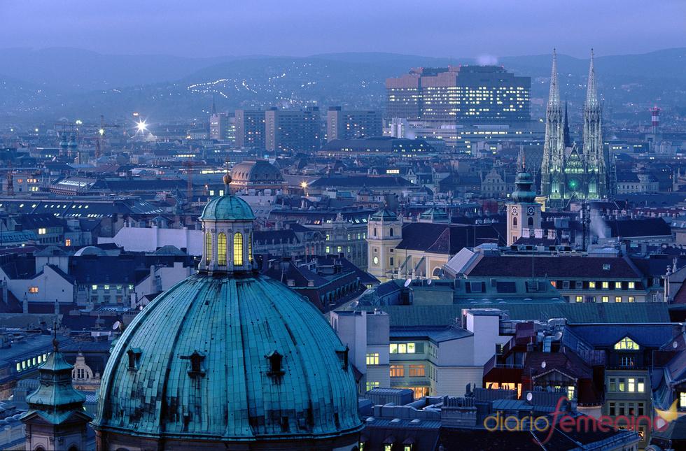 Vista de la ciudad de Viena