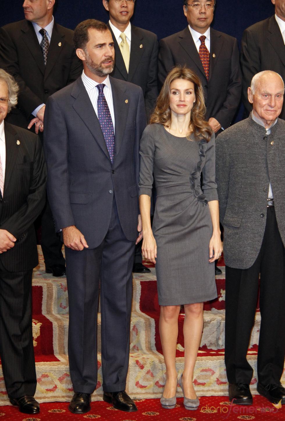 Felipe y Letizia en los premios Príncipe de Asturias