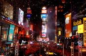 Times Square la noche de fin de año