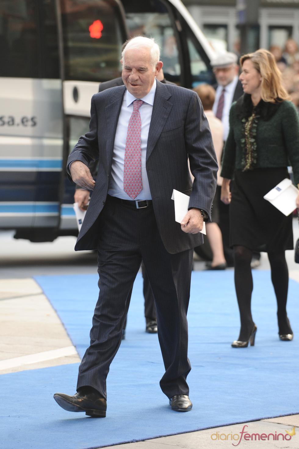 Luis Aragonés en los premios Príncipe de Asturias 2010
