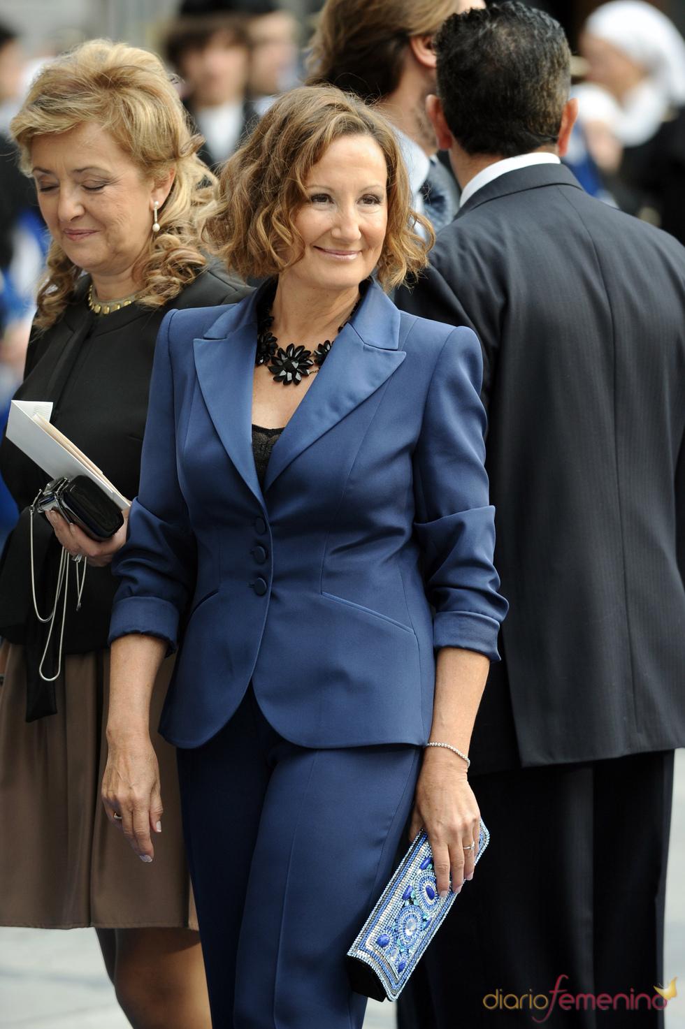 Paloma Rocasolano en los premios Príncipe de Asturias 2010