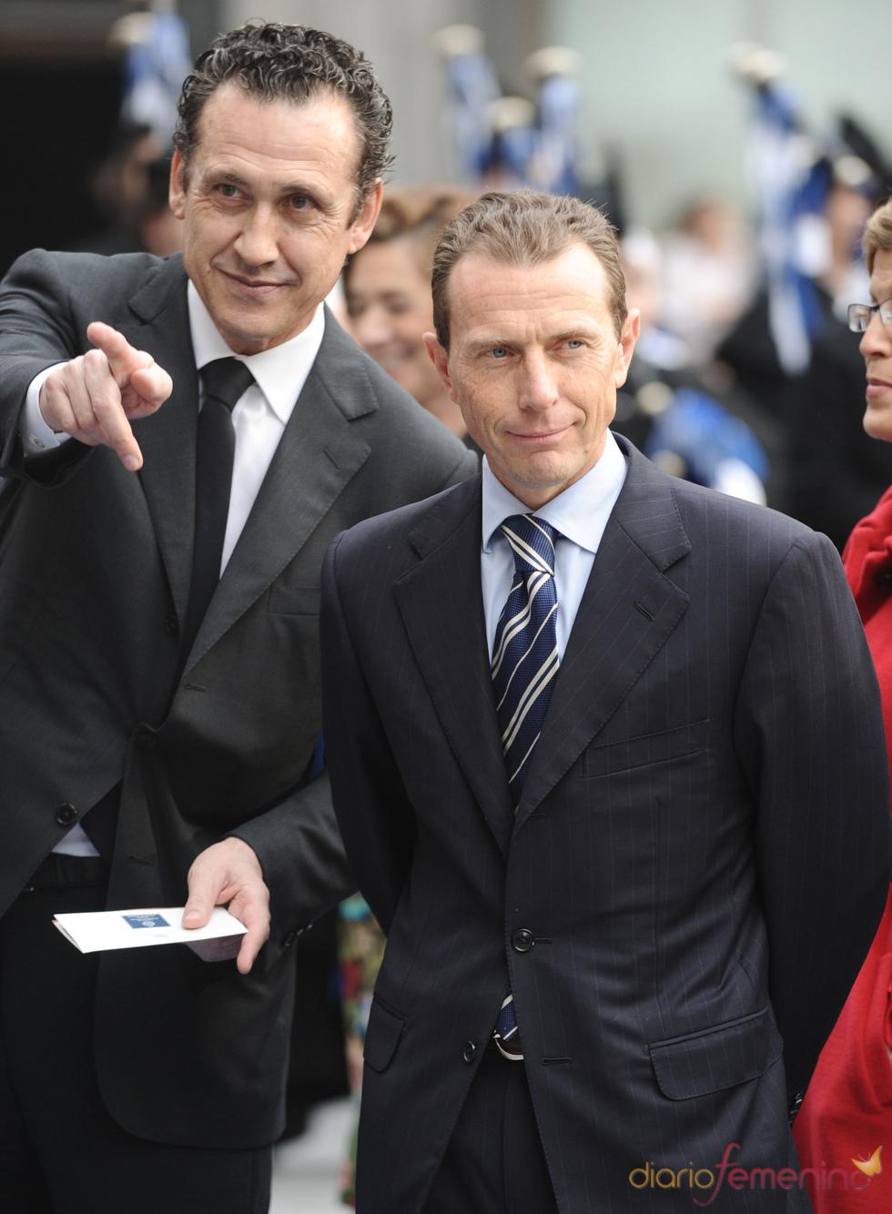 Jorge Valdano y Emilio Butragueño en los premios Príncipe de Asturias 2010