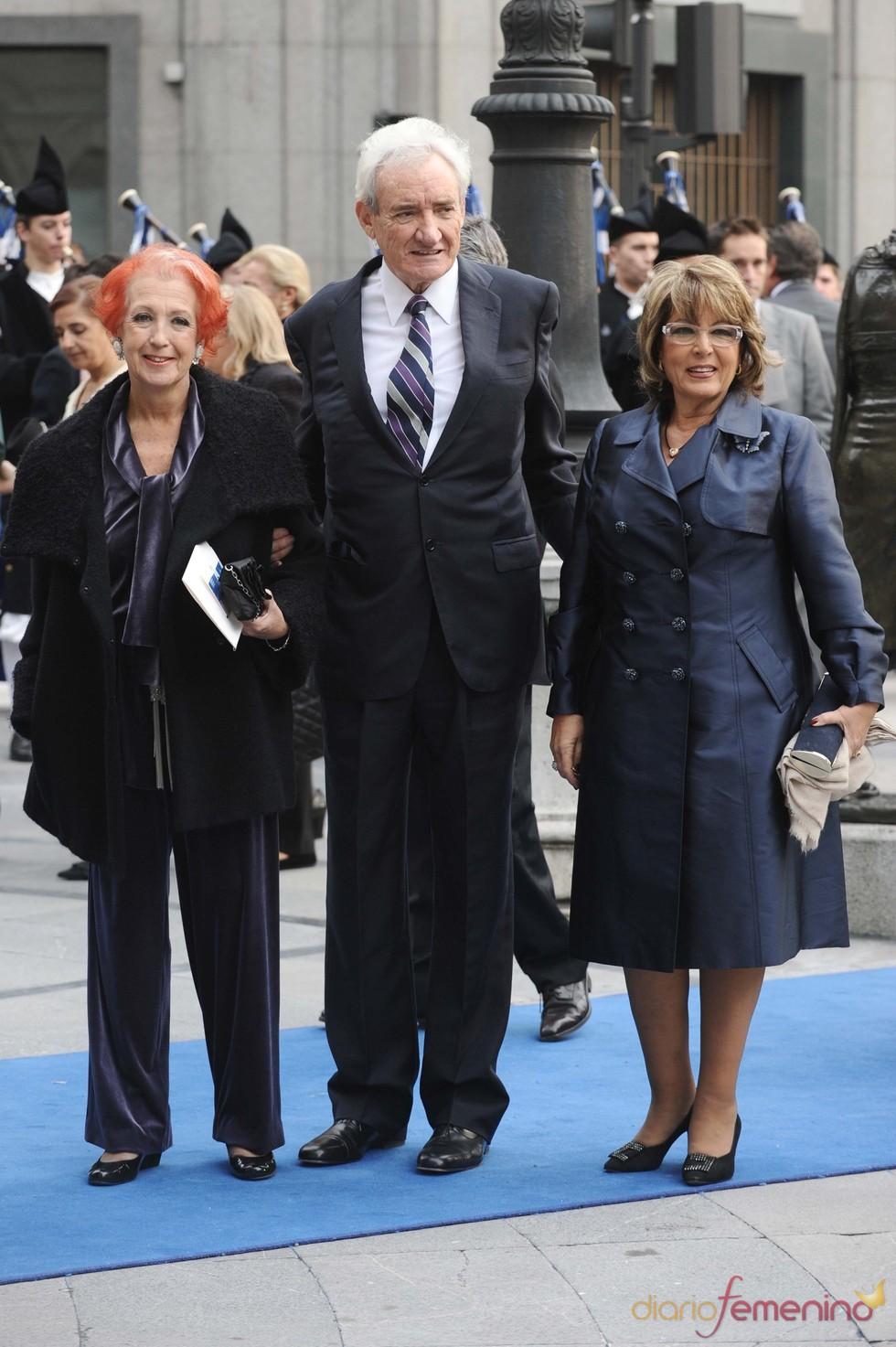 Luis del Olmo y Rosa María Calaf en los premios Príncipe de Asturias 2010