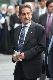 Miguel Ángel Revilla en los premios Príncipe de Asturias 2010