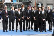 La selección española en los premios Príncipe de Asturias 2010