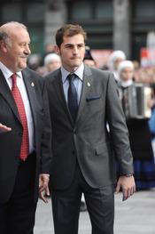 Iker Casillas en los premios Príncipe de Asturias