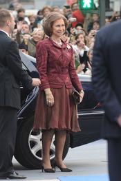 La reina doña sofia en los premios Príncipe de Asturias 2010