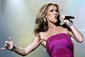 Celine Dion en concierto