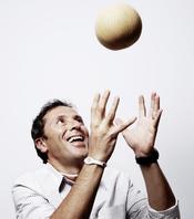 Paco González feliz con su Power Balance