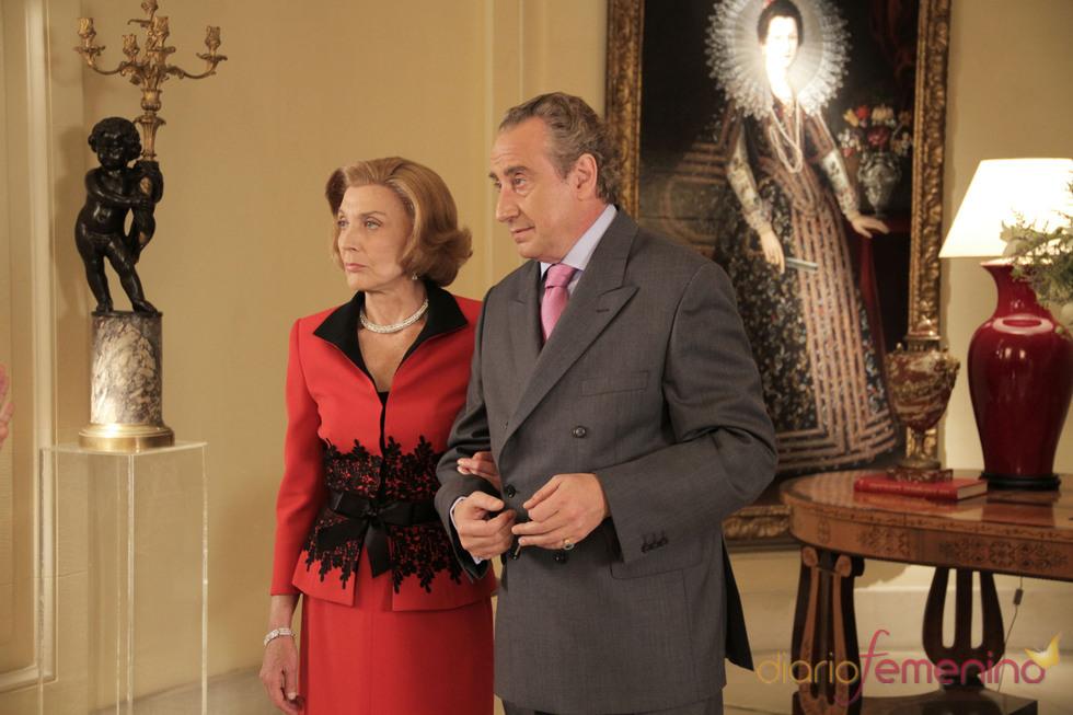 Doña Sofia y Don Juan Carlos en la ficción