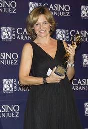 Almudena Ariza en los premios Antena de Oro 2010