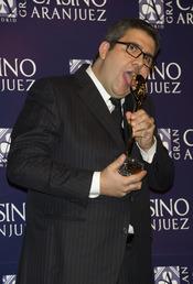 Florentino Fernández en los premios Antena de Oro 2010
