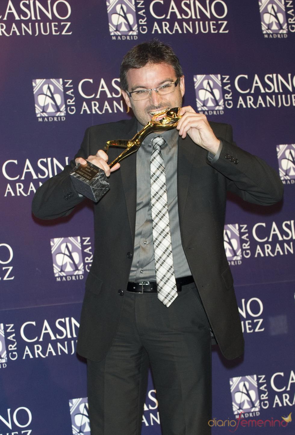 Jordi Évole en los premios Antena de Oro 2010