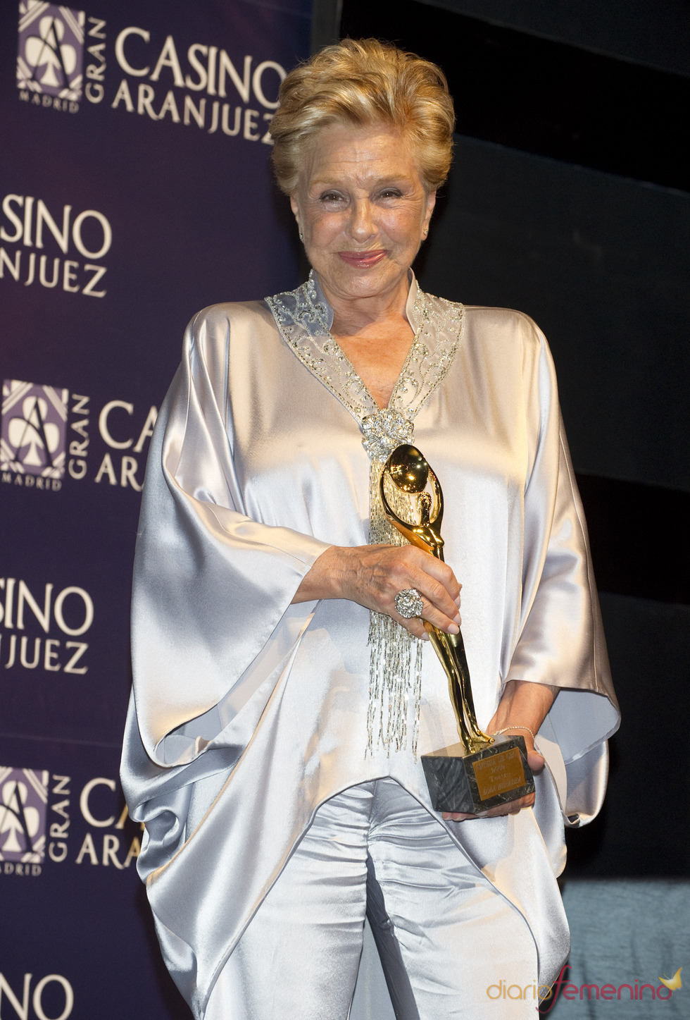 Lola Herrera en los premios Antena de Oro 2010