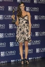 Sara Carbonero en los premios Antena de Oro 2010