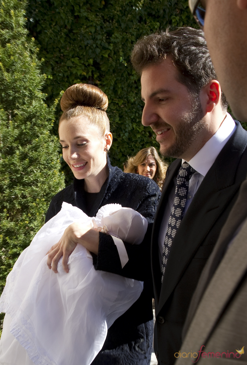 Borja Thyssen y Blanca Cuesta bautizan a su segundo hijo