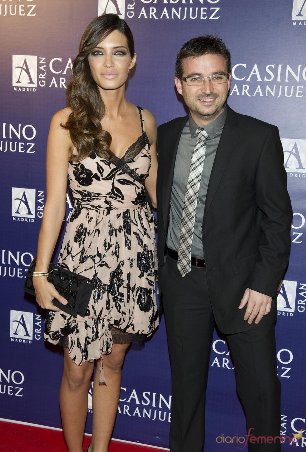 Sara Carbonero y el Follonero en los premios Antena de Oro 2010
