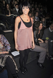Raquel del Rosario en la Madrid Fashion Week