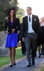 El Príncipe Guillermo y Kate Middleton se van de boda