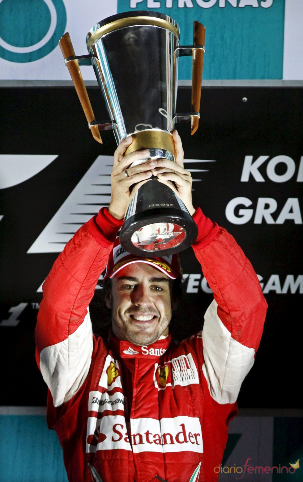 Fernando Alonso gana el Gran Premio de Corea 2010