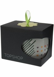 Taza en caja de regalo de TopShop