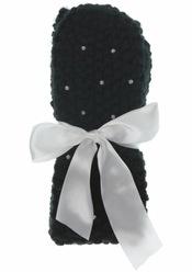 Calcetines negros con perlas de TopShop