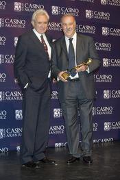 Vicente del Bosque en los premios Antena de Oro 2010