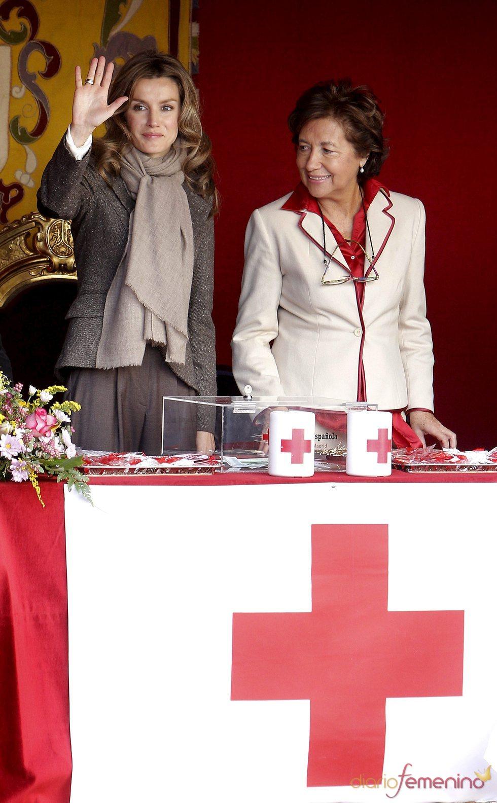 Doña Letizia en el Día de la Cruz Roja