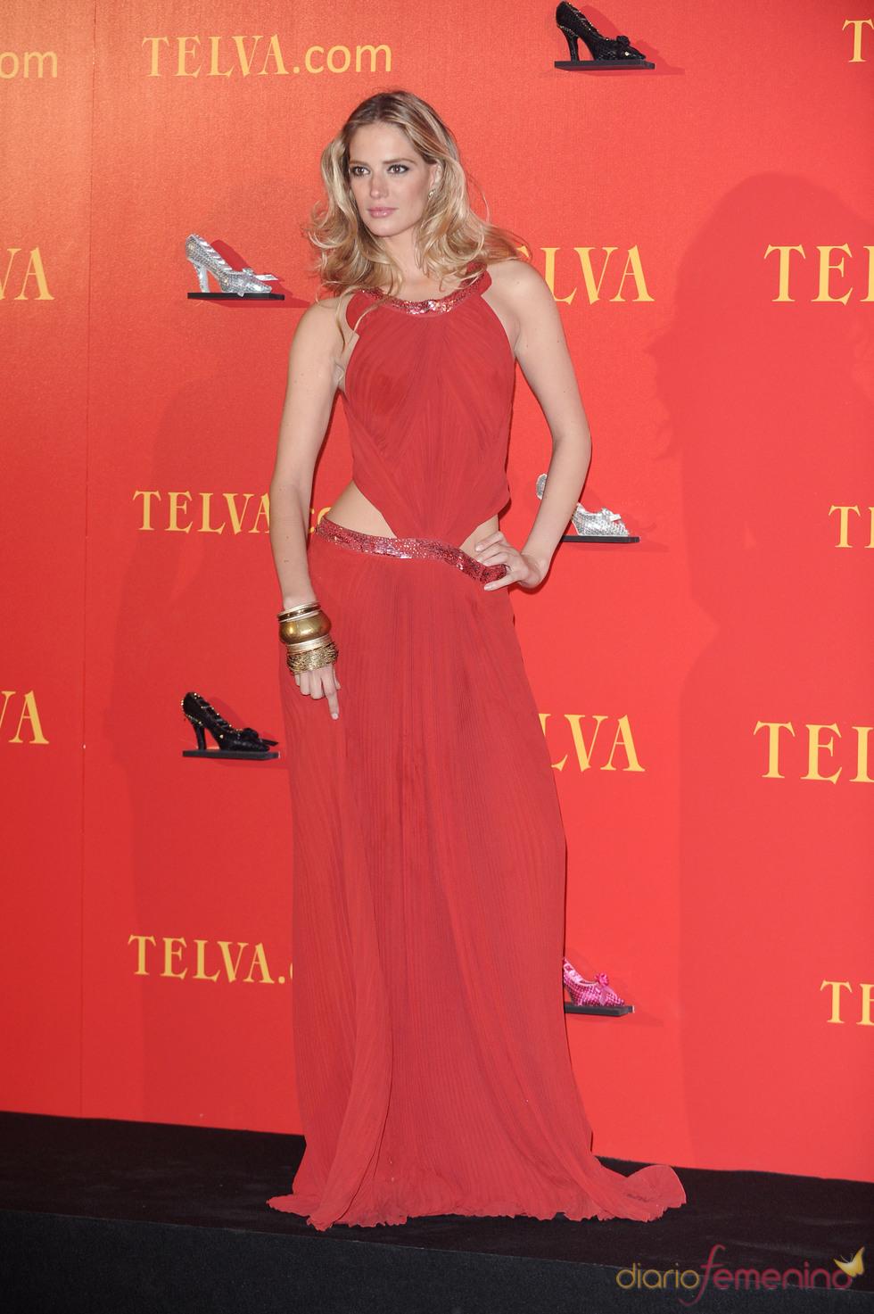 Teresa Baca en los Premios Telva 2010