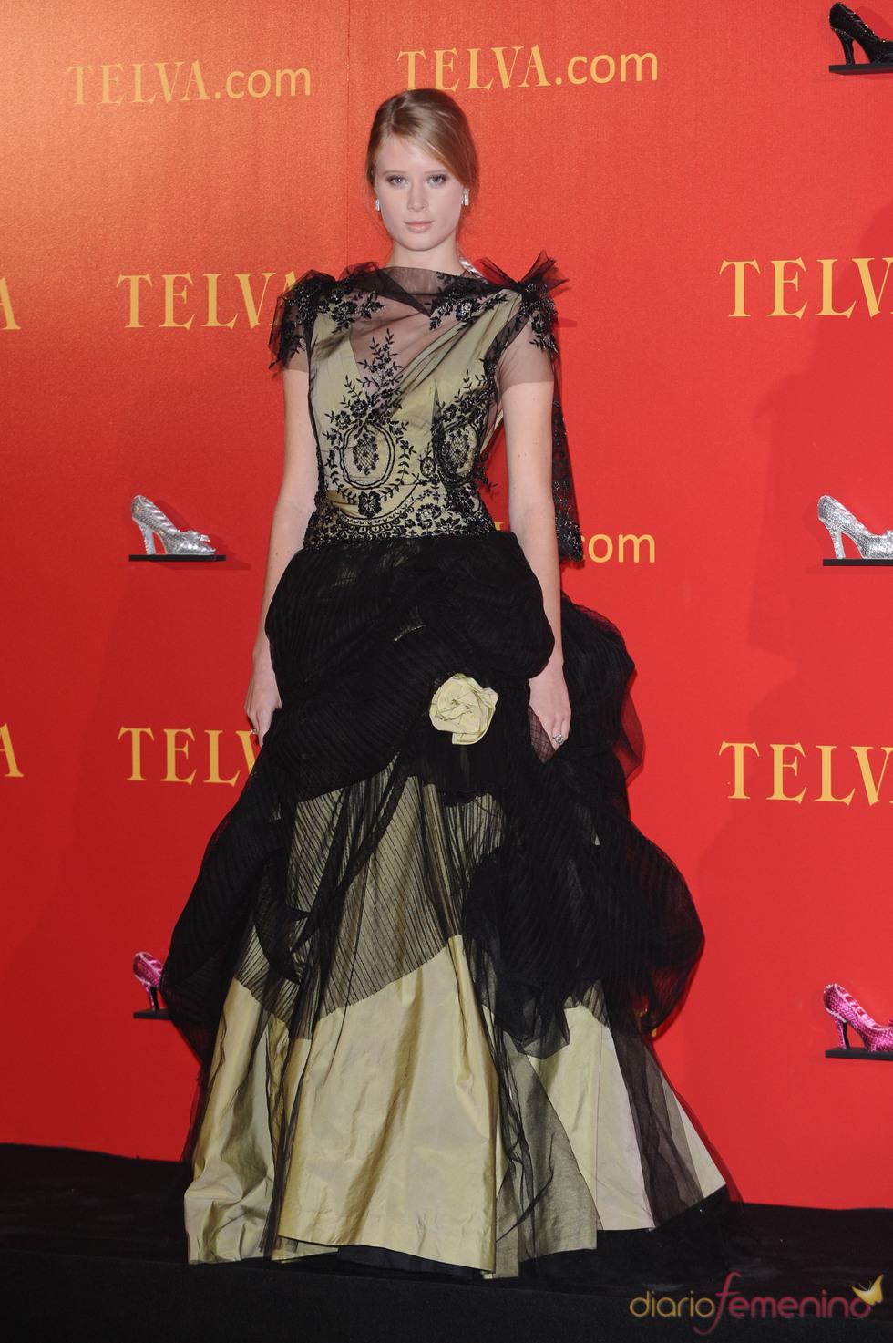 Premios Telva 2010 con Ekaterina Bosé