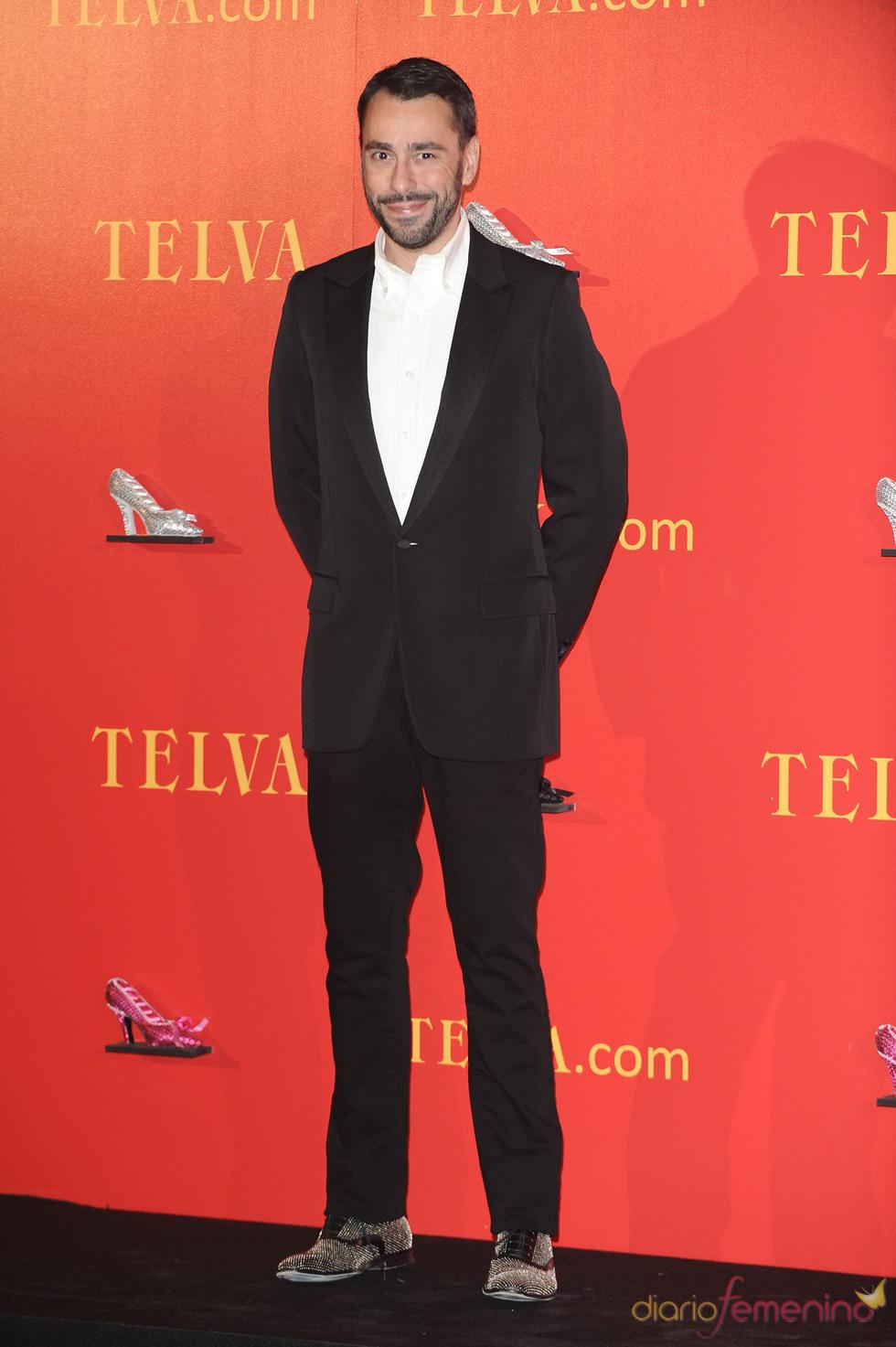 Premios Telva 2010 con Juanjo Oliva