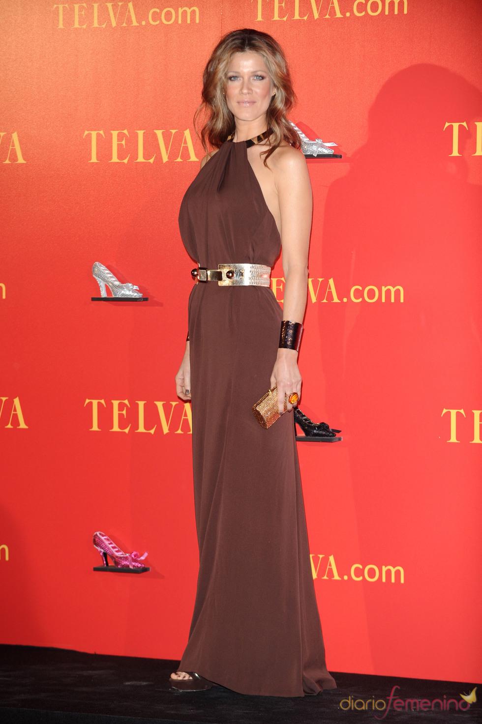 Jaydy Mitchell en los Premios Telva 2010