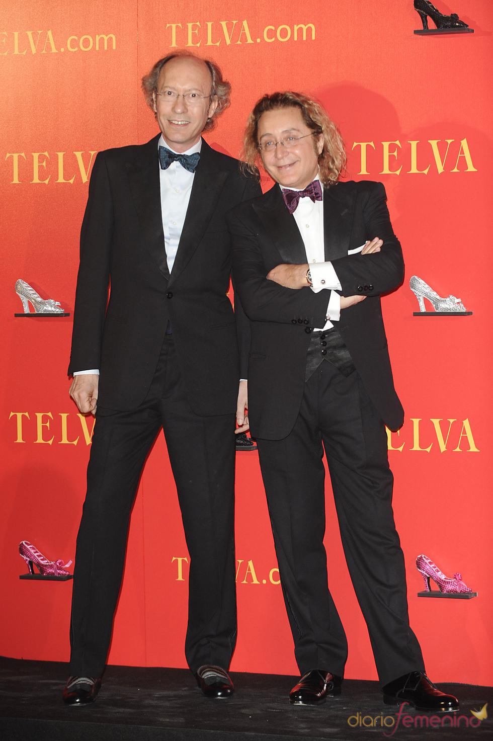 Vitorio y Lucchino en los Premios Telva 2010