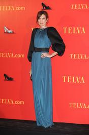 Nieves Álvarez en los Premios Telva 2010