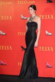Dafne Fernández en los Premios Telva 2010