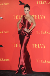 Juncal Rivero en los Premios Telva 2010