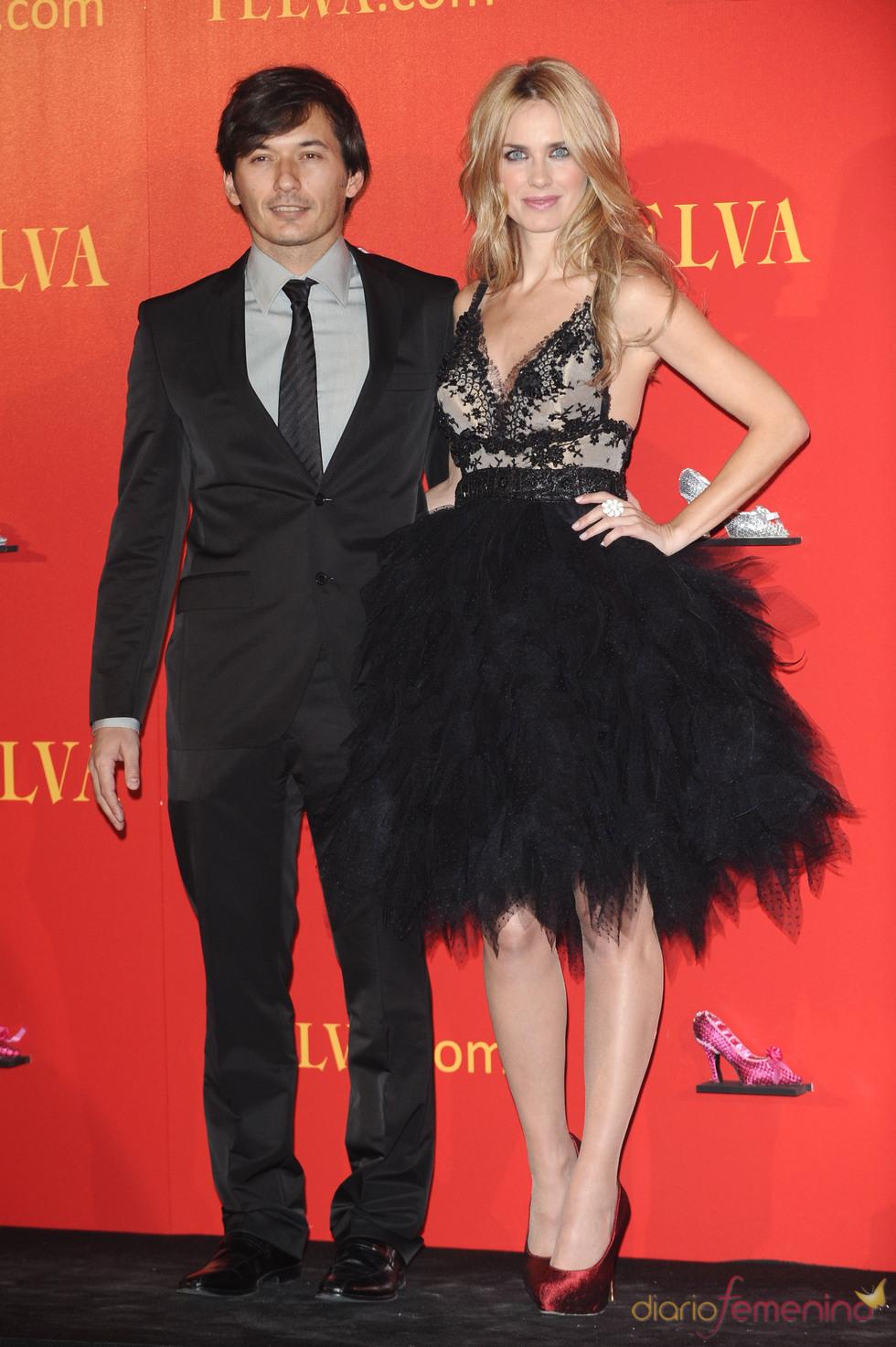 Alberto Caballero y Vanessa Romero en los Premios Telva 2010