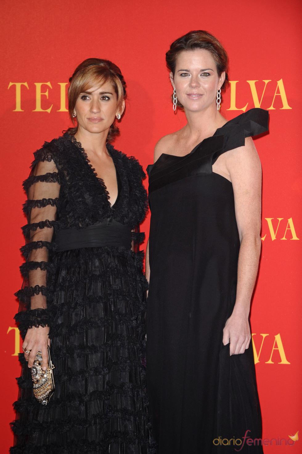Alejandra Martos y Amelia Bono posan juntas