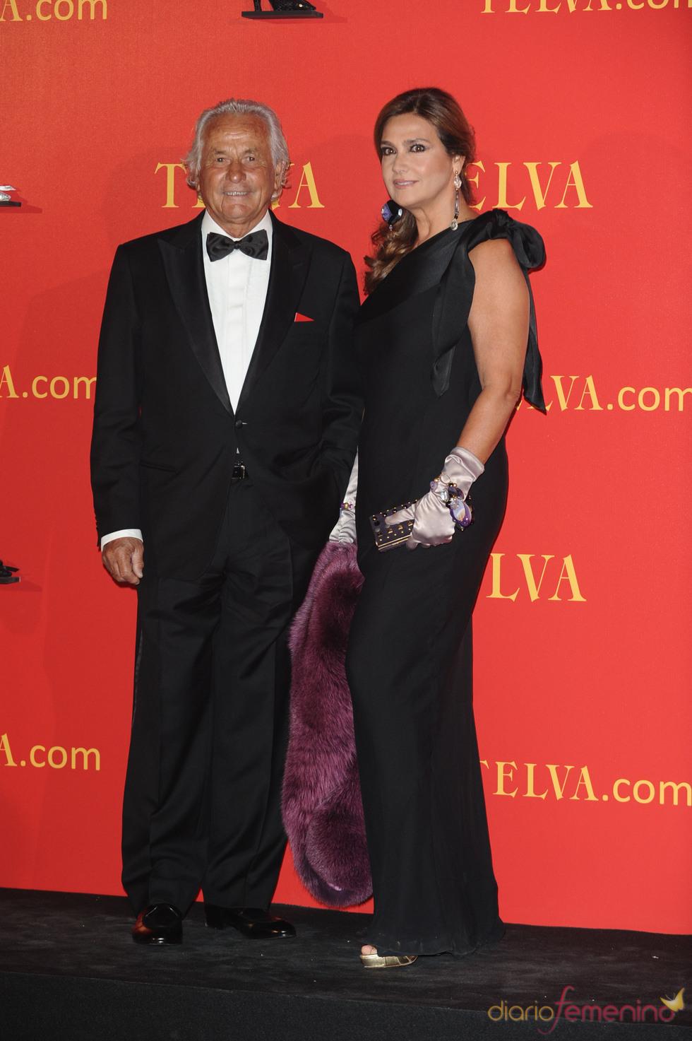 Palomo Linares y Marina Danko en los Premios Telva 2010