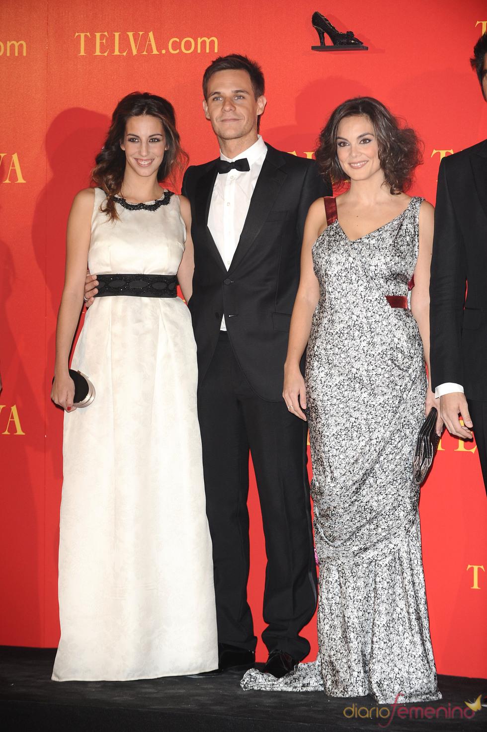 Christian Gálver y Almudena Cid en los Premios Telva 2010