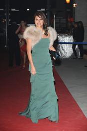 Mónica Hoyos en los Premios Telva 2010